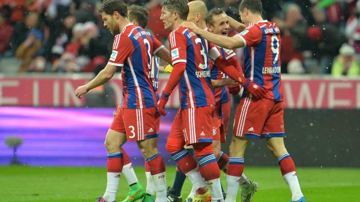 Bayern legt vor: Am Freitag besiegte der Rekordmeister den 1. FC Köln (Foto: picture alliance / AP Photo)