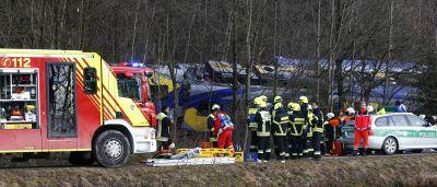 Choque de trens na Alemanha