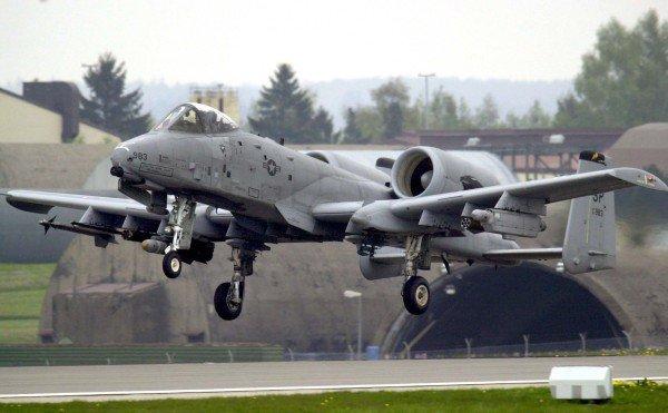 Der Kampfflieger, die über dem Atom-Reaktor im unterfränkischen Grafenrheinfeld gesichtet wurden, starteten vom US-Militärstützpunkt Spangdahlem. (Foto: dpa)