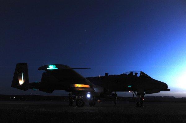 Nachtflüge von US-Kampfjets sorgen in Unterfranken für Irritation bei den Anwohnern. (Foto: US Airforce)