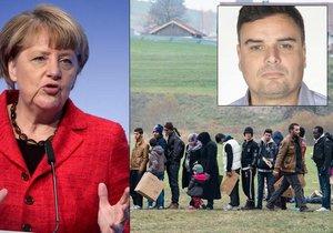 Kancléřka Angela Merkelová, uprchlíci v Německu a komentátor Petr Holec