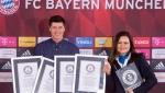 Lewandowski 9 dakikada 4 rekor kırarak Guinness Rekorlar Kitabı'na girdi