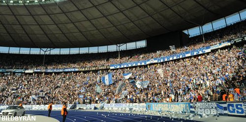 Hertha-Dortmund i semifinalen