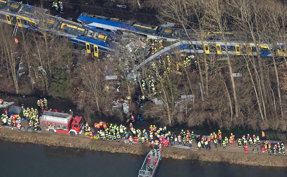 Acidente com trens na Alemanha