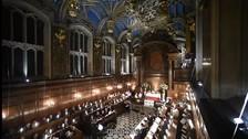 Capilla de Enrique VIII acoge la primera misa catlica en 450 aos