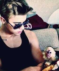 Justin Bieber e Mally © Instagram