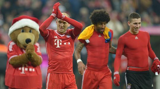 Bayern München schleppt sich in den Weihnachts-Endspurt