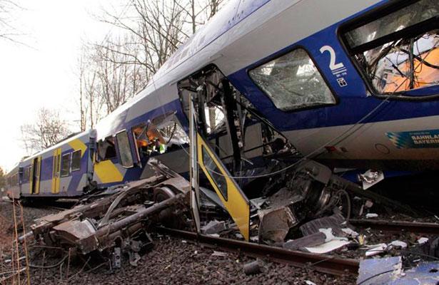 Alemania cancela Mircoles de Ceniza poltico por accidente ferroviario